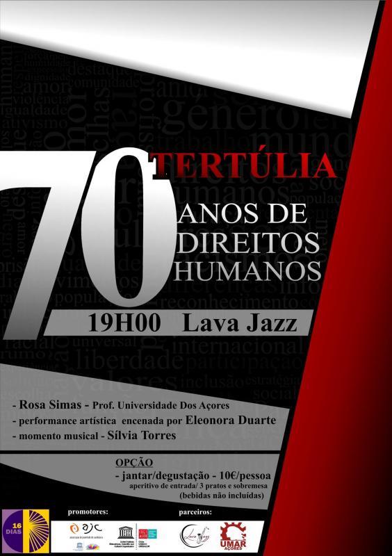 TERTÚLIA - 70 Anos de Direitos Humanos
